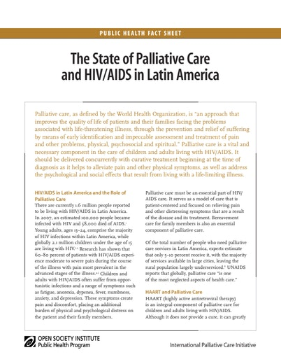 First page of PDF with filename: palliative_20080731.pdf