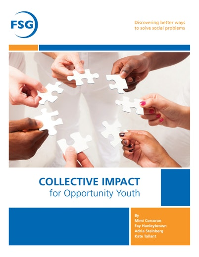 First page of PDF with filename: collective-impact-opportunity-youth20120919.pdf