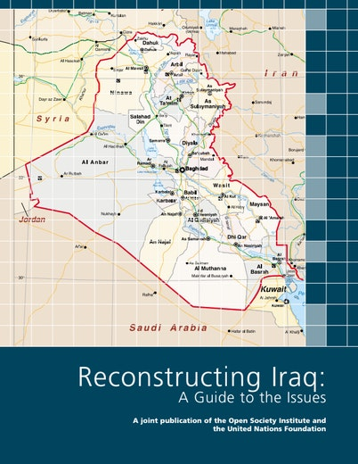 First page of PDF with filename: reconstructing_iraq.pdf