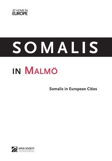 First page of PDF with filename: somalis-malmo-20130131.pdf