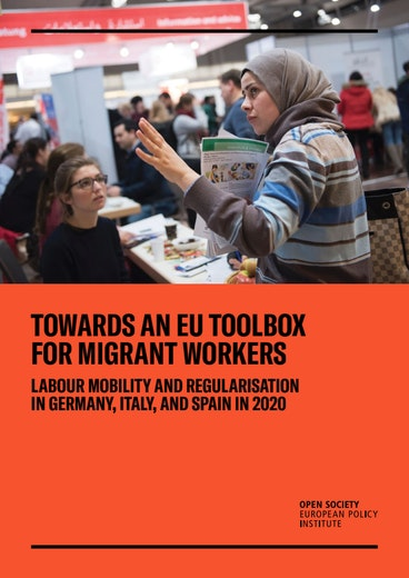 First page of PDF with filename: towards-an-eu-toolbox-for-migrant-workers-20201209.pdf