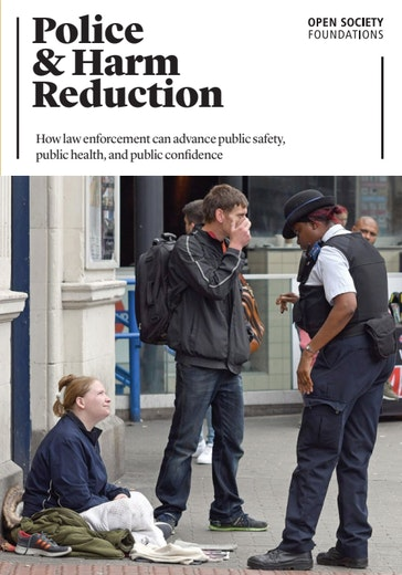 First page of PDF with filename: police-harm-reduction-20180720.pdf