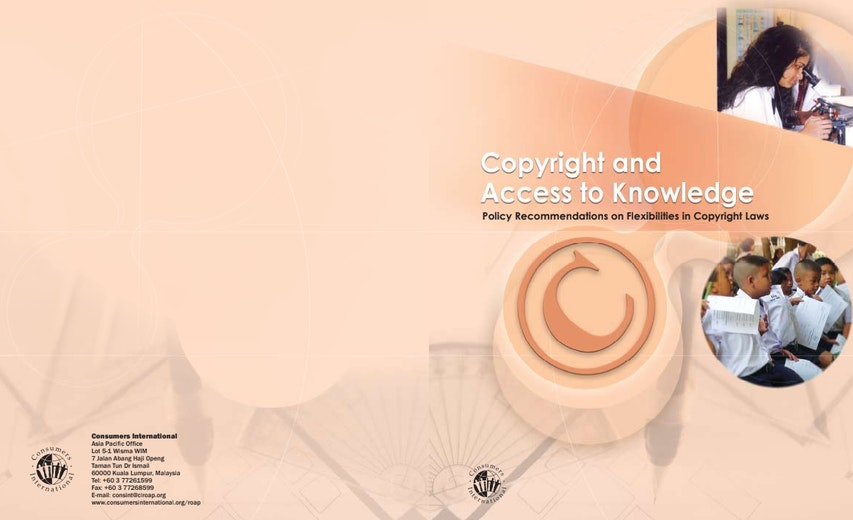 First page of PDF with filename: copyright_access.pdf