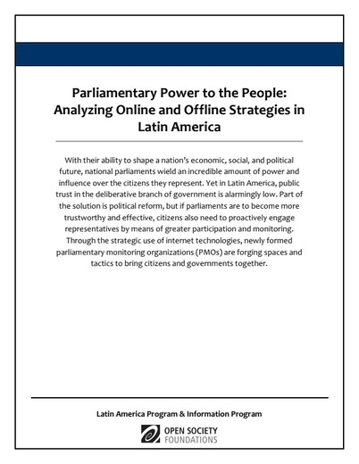 First page of PDF with filename: parliamentary-power-20120308.pdf