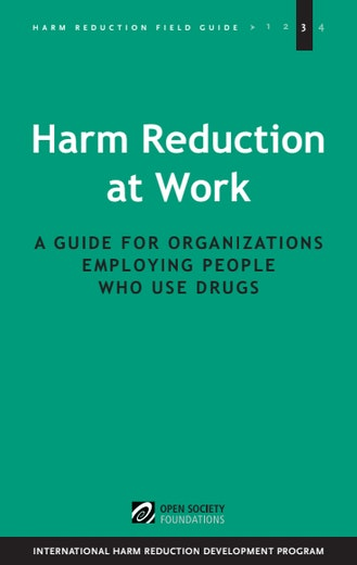 First page of PDF with filename: work-harmreduction-20110314.pdf