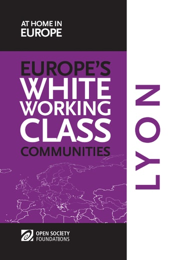 First page of PDF with filename: white-working-class-communities-lyon-20150605.pdf