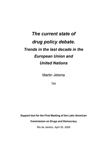 First page of PDF with filename: jelsma-current-state-policy-debate-english-20100630.pdf
