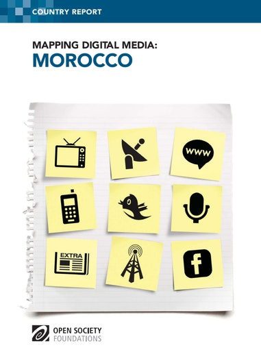 First page of PDF with filename: mapping-digital-media-morocco-20130805.pdf