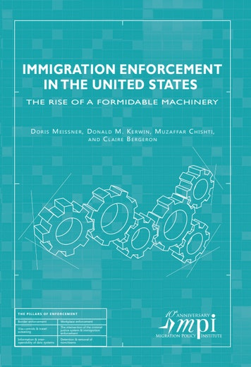 First page of PDF with filename: immigration-enforcement-u.s.-201301.pdf