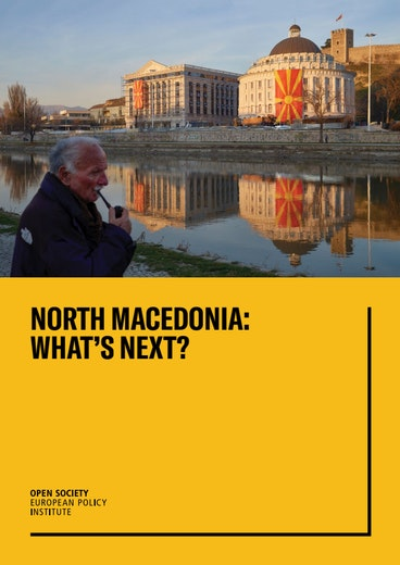 First page of PDF with filename: north-macedonia-what's-next-20190115.pdf
