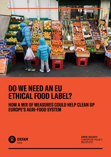 First page of PDF with filename: do-we-need-an-eu-ethical-food-label-20200908.pdf
