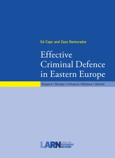First page of PDF with filename: criminal-defence-20120604.pdf