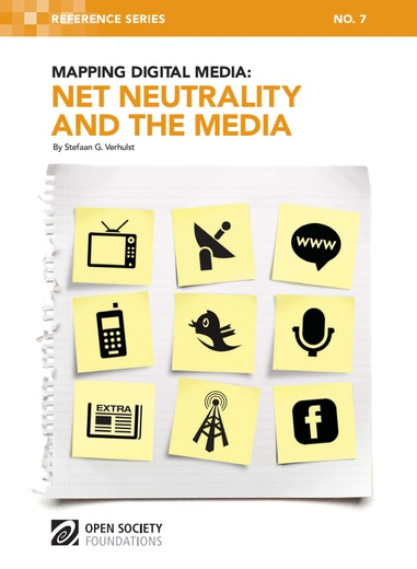 First page of PDF with filename: mapping-digital-media-net-neutrality-20110808.pdf