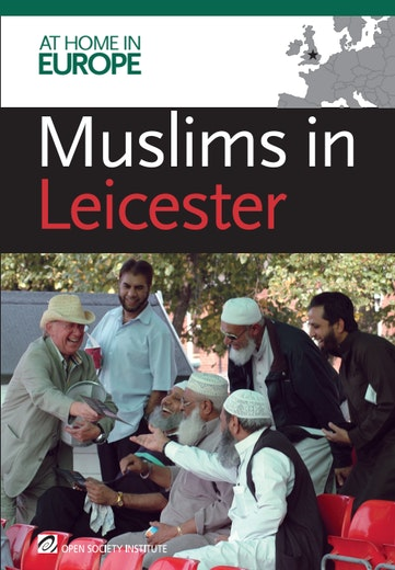 First page of PDF with filename: a-muslims-leicester-20110106_0.pdf