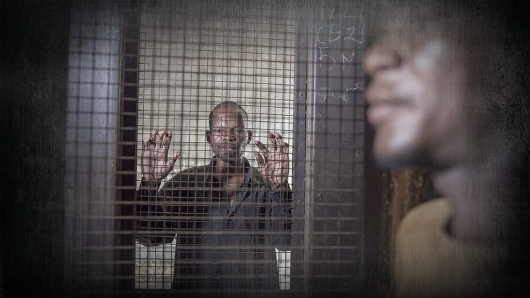Man being held in detention