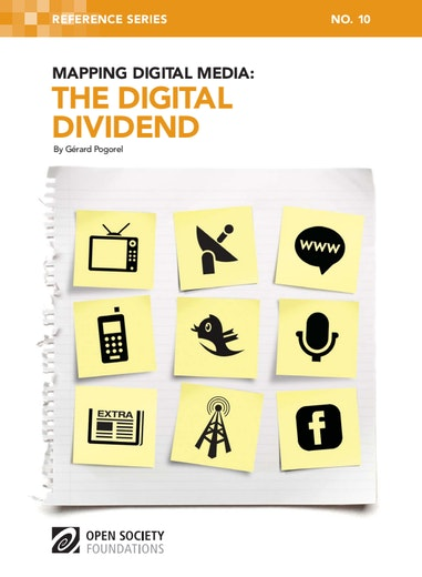 First page of PDF with filename: mapping-digital-media-digital-dividend-20110823.pdf