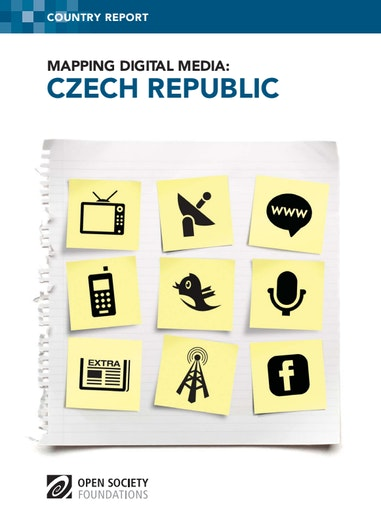 First page of PDF with filename: mapping-digital-media-czech-20130820.pdf