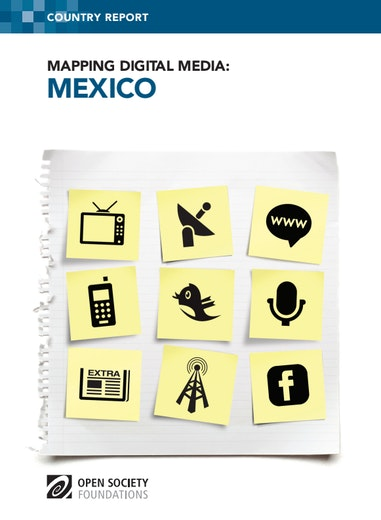 First page of PDF with filename: mapping-digital-media-mexico-20130605_0.pdf