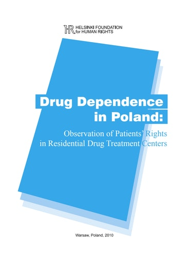 First page of PDF with filename: helsinki_report_drug_dependence.pdf