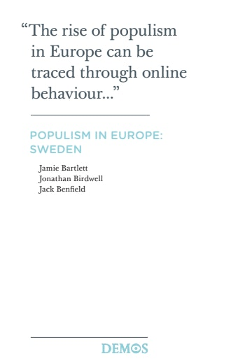 First page of PDF with filename: populism-in-europe-sweden-20120224.pdf