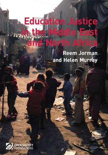 First page of PDF with filename: education-justice-middle-east-and-north-africa-20101130.pdf