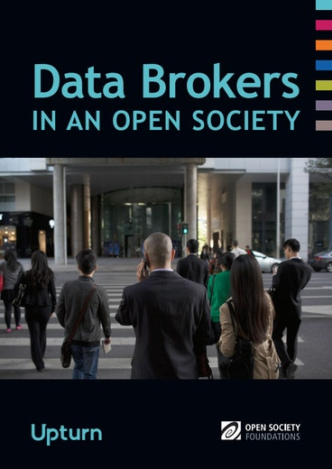 First page of PDF with filename: data-brokers-in-an-open-society-20161121.pdf