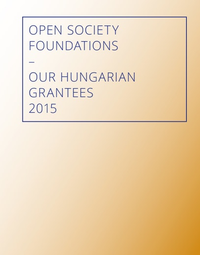 First page of PDF with filename: open-society-hungarian-grantees-en-20161208.pdf