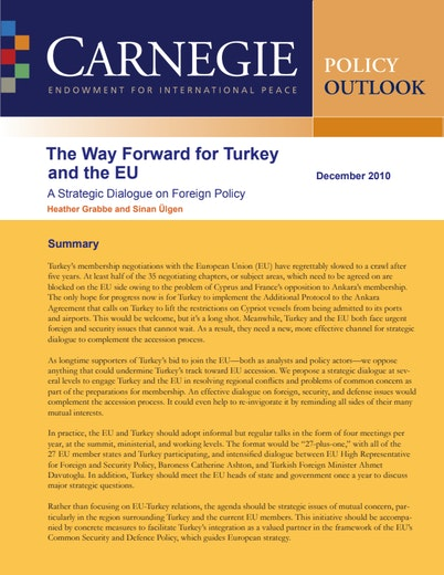 First page of PDF with filename: turkey-eu-20101216.pdf