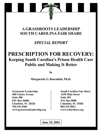 First page of PDF with filename: Prescription_for_Recovery.pdf