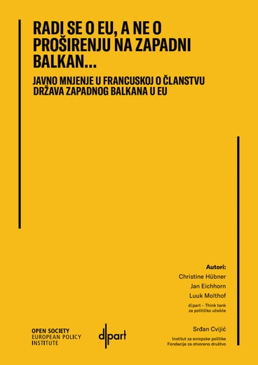 First page of PDF with filename: it's-the-eu-not-western-balkan-enlargement-alb-20210311.pdf
