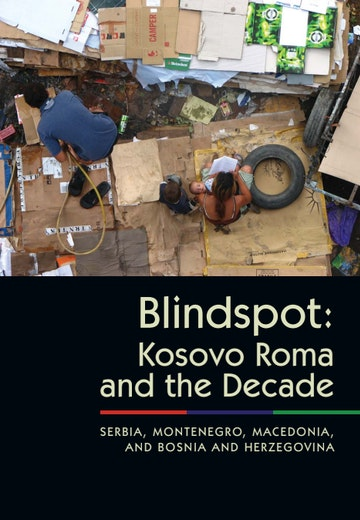 First page of PDF with filename: blindspot-kosovo-roma-20110530.pdf