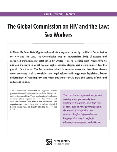 First page of PDF with filename: HIV-and-the-Law-Sex Workers-20130930.pdf