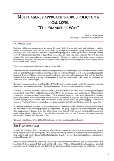 First page of PDF with filename: The_Frankfurt_Way.pdf