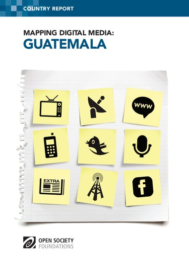 First page of PDF with filename: mapping-digital-media-guatemala-20140115.pdf