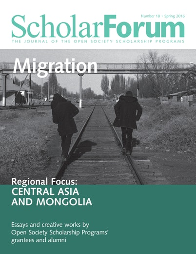 First page of PDF with filename: scholarforum-migrationcentral-asia-and-mongolia-20160603.pdf