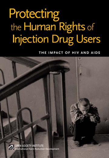 First page of PDF with filename: protecting-the-human-rights-of-injection-drug-users-20050201.pdf