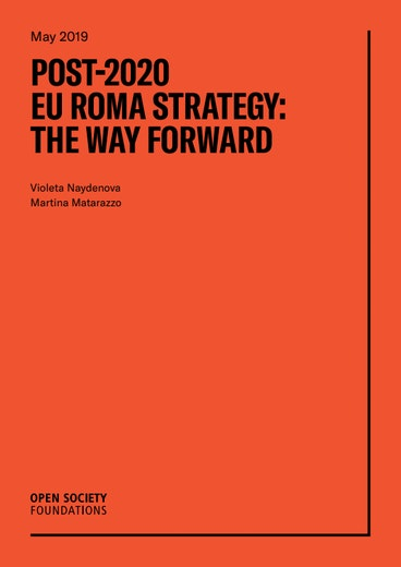First page of PDF with filename: post-2020-eu-roma-strategy-the-way-forward-20190627.pdf