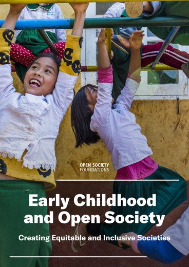 First page of PDF with filename: early-childhood-and-open-society-creating-equitable-and-inclusive-societies-20201216.pdf