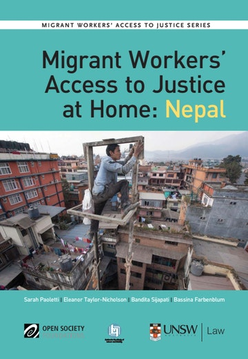 First page of PDF with filename: migrant-nepal-report-english-20140610_1.pdf
