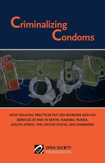 First page of PDF with filename: criminalizing-condoms-20120717.pdf