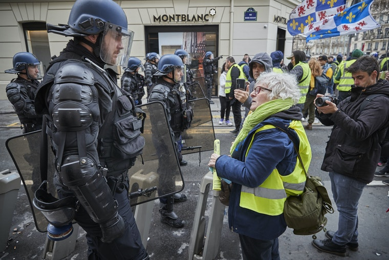 France's War on Protest - Open Society Foundations