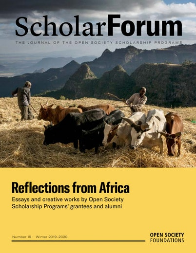 First page of PDF with filename: scholar-forum-reflections-from-africa-20200227.pdf