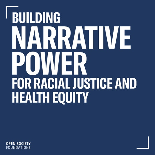 First page of PDF with filename: building-narrative-power-for-racial-justice-and-healthy-equity-20190812.pdf