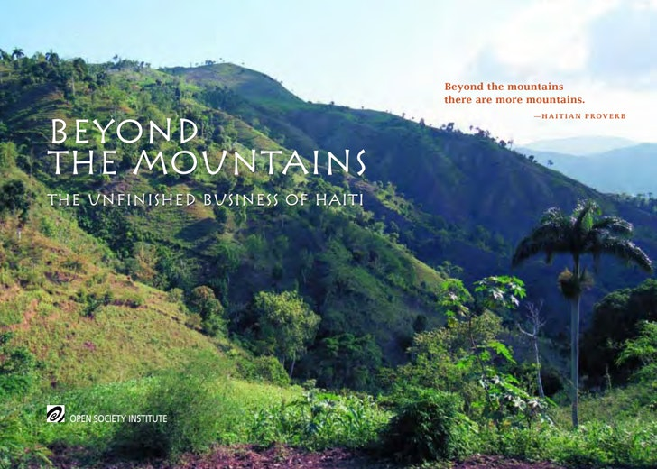 First page of PDF with filename: haiti_mountains.pdf