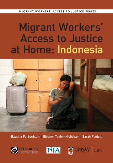 First page of PDF with filename: migrant-worker-justice-indonesia-20131015.pdf
