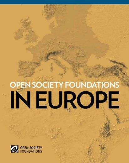 First page of PDF with filename: open-society-foundations-europe-20130620.pdf