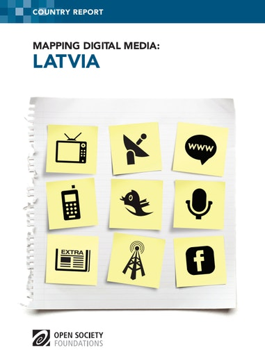 First page of PDF with filename: mapping-digital-media-latvia-20130607_0.pdf