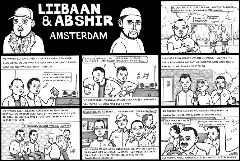 First page of PDF with filename: somalis-amsterdam-nl.pdf