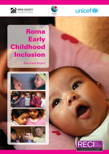 First page of PDF with filename: Roma-Early-Childhood-Inclusion-Report-20120813.pdf