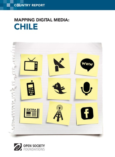 First page of PDF with filename: mapping-digital-media-chile-20121122.pdf